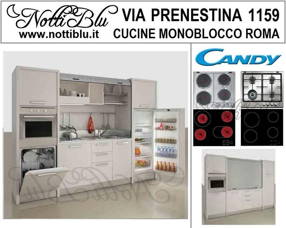 Cucine Monoblocco Cottura 4 Zone _ Cucina ERMA