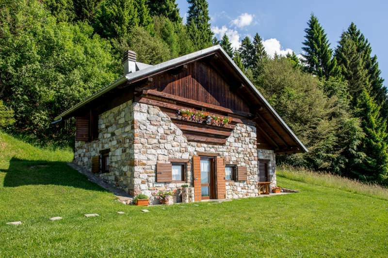 Affitto chalet in montagna a 1350 metri bellissima posizione