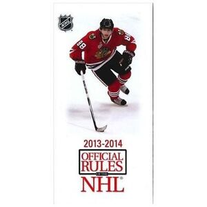 NATIONAL-HOCKEY-LEAGUE-OFFICIAL-RULES-2013-2014-9781600788550-PAPERBACK-NE