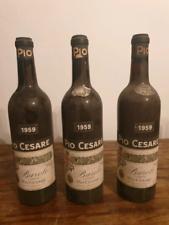 Ottime bottiglie di Barolo annata 1959