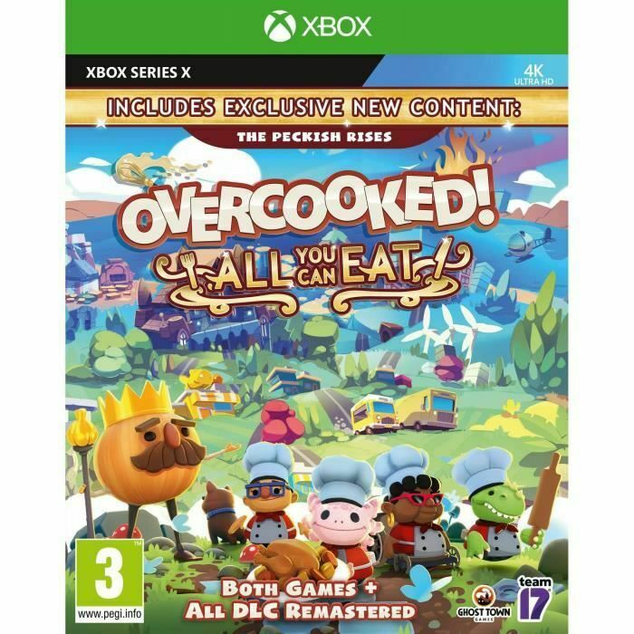 Overcooked All You Can Eat Xbox One e Xbox Series X Game