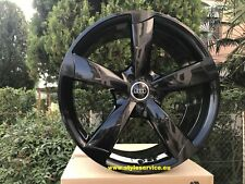 Cerchi audi rotor black 17 18 19 20 21 made in germany