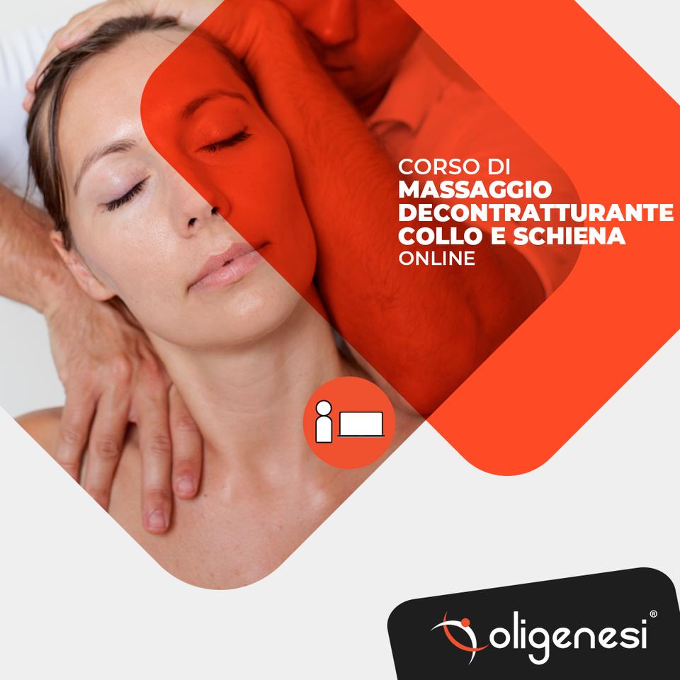 Video Corso Online di Massaggio Decontratturante...