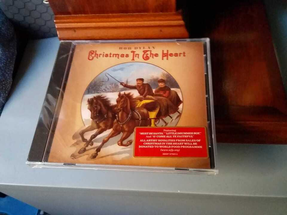 CD Bob Dylan Christmas in the Heart