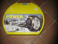 Catene da neve power x mis. 20