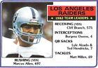 Marcus Allen Single Football Trading Cards