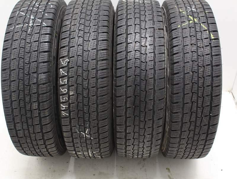 Kit di 4 gomme usate 195/75/16 C Hankook