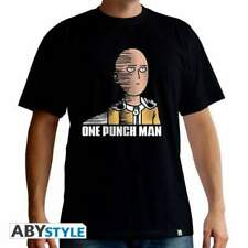 ONE PUNCH MAN - Tshirt Saitama Fun man SS black - basic