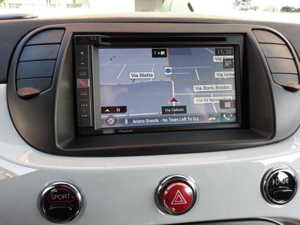 Autoradio pioneer dab modello 2021 fiat 500 5