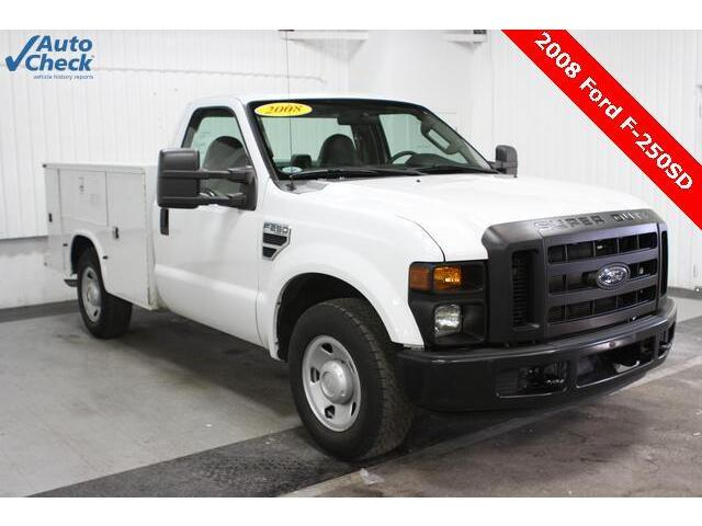 Ford F 250 Xl Used 08 Ford F250sd Regular Cab Knapheide