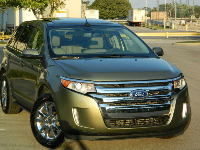 2012 Ford Edge Limited Ecoboost 2 0L Engine Navi Sync Panorama Roof Chrome Rims