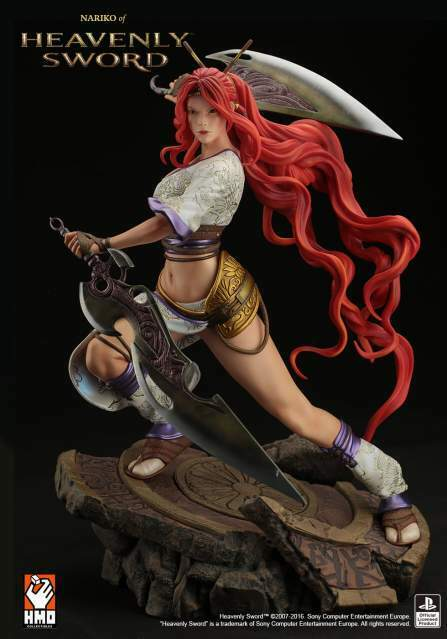 Statua Nariko HMO (Heavenly Sword)