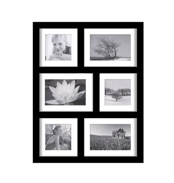 malden 2061 646 is also known as the malden southlake six opening picture frame the frame has three 5 by 7 inch and three 5 by 5 inch openings