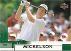 Phil Mickelson Golf Trading Cards
