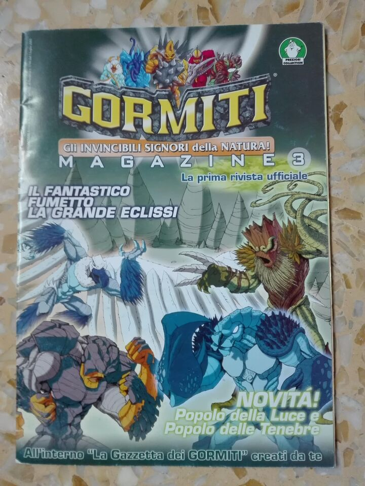 Lotto Gormiti Magazine