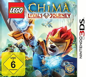 LEGO Legends of Chima: Laval's Journey (Nintendo 3DS, 2013, Keep Case)