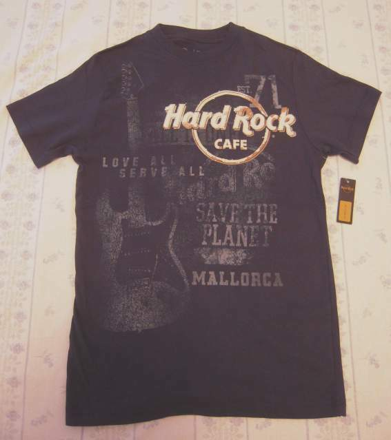 T-shirt hard rock cafe mallorca (nuova e originale)