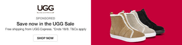 Free shipping from UGG Express