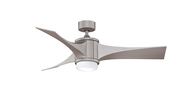 If you like the look of a metallic ceiling fan but are in search of something ultra modern the fanimation jennix metro gray will not disappoint