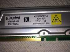 Rambus kingston - rara 2 x 256 mb
