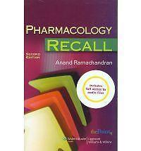 Pharmacology Recall: Print and Audio Package by Anand Ramachandran (Multiple...