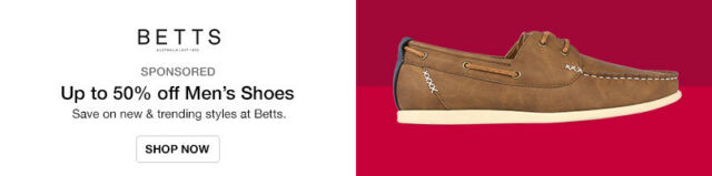 Save on new styles at Betts