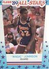 Magic Johnson Professional Sports (PSA) Basketball Cards