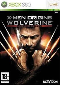 MINT-Disc-X-Men-Origins-Wolverine-Uncaged-Edition-Microsoft-Xbox-360-2009