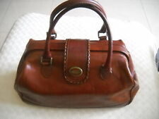 Borsa bauletto donna, vintage, Genuine Leather Made in Italy