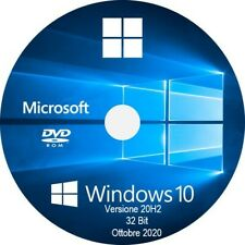 dvd - windows 10 32 & 64 bit attivazione digitale