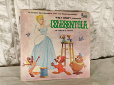 Disco LP anni '60 CENERENTOLA italian version completo Disney film.