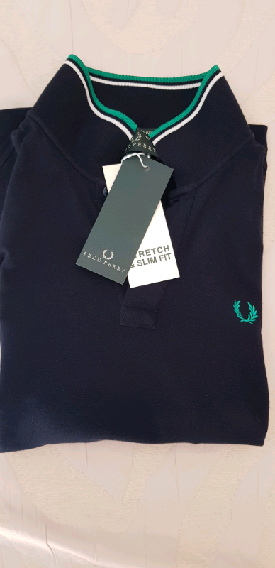 N 4 polo marca Fred Perry Tg M nuove 5