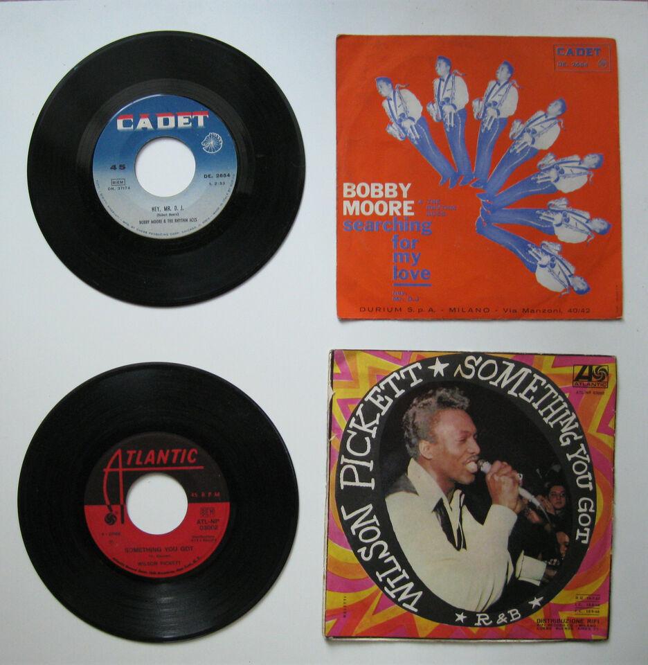 2 dischi 45 giri anni '60 (genere R&B)