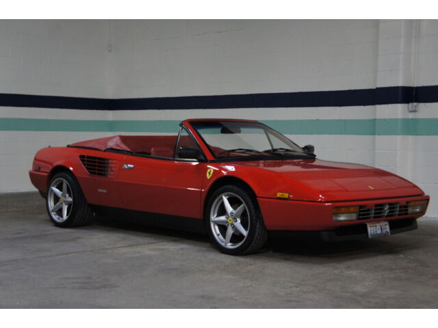 1986 ferarri mondial convertible 3 2 5 speed clean 37k miles timing belt done used ferrari. Black Bedroom Furniture Sets. Home Design Ideas