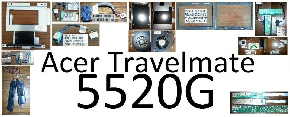 Ricambi Acer Travelmate 5520g