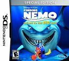 Nintendo DS Finding Nemo: Escape to the Big Blue Video Games