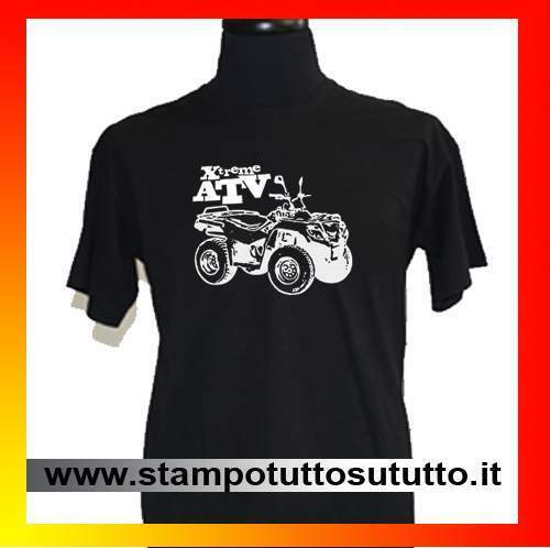 Maglietta, t shirt, quad, atv, 4x4, motocross, polaris, can am