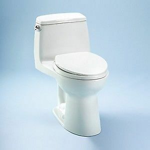 users looking for a durable comfortable and watersaving toilet can find an ideal choice in toto ms854114sl it is an elongated onepiece toilet with an