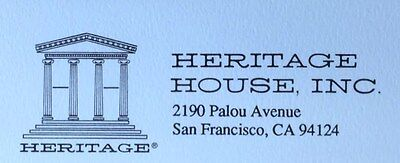 Heritage House Tableware