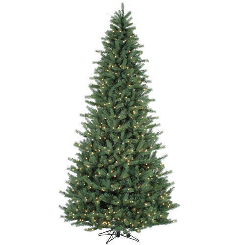 This Tree Comes Very Close To The Real Thing Without The Hassle The   Ft Layered Balsam Christmas Tree Comes Pre Lit Taking Away The Issues Of Tangling