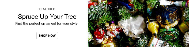 Find the perfect ornament for your style