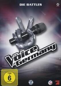 The Voice of Germany Die Battles (2012) DVD NEU & OVP