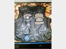 Gile gilet giacca pelle molto chapter