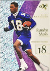 Randy Moss Piece of Authentic Football Trading Cards