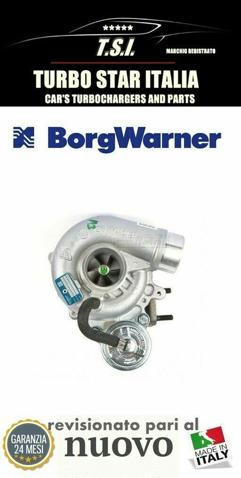 Turbina turbocompressore 53039700089 iveco daily...