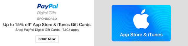 Shop Paypal Digital Gift Cards
