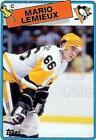 Topps Rookie Mario Lemieux Hockey Trading Cards