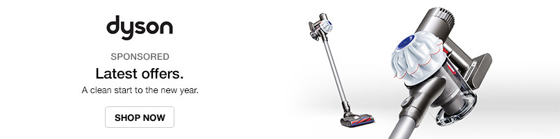 Dyson Offers - A clean start to the new year