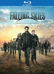 BRAND NEW FALLING SKIES COMPLETE SECOND SEASON BLU-RAY 2 DISCS FACTORY SEALED!