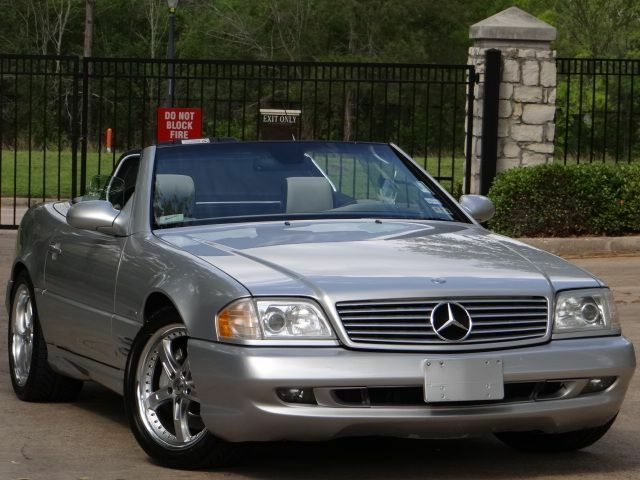 2002 mercedes sl500 silver arrow low miles loaded for 2002 mercedes benz sl500 for sale